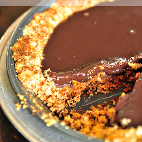 Chocolate Espresso Ganache Pie