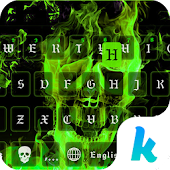 Download Full Hell Fire Kika Keyboard Theme 48.0 APK