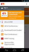 Screenshot of Global Risk Leadership