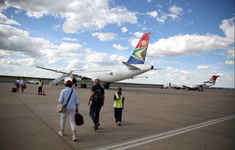 South African Airways to scale back in break-even bid