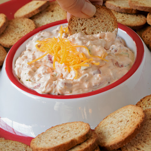 Quick Creamy Bacon Dip with Peppers