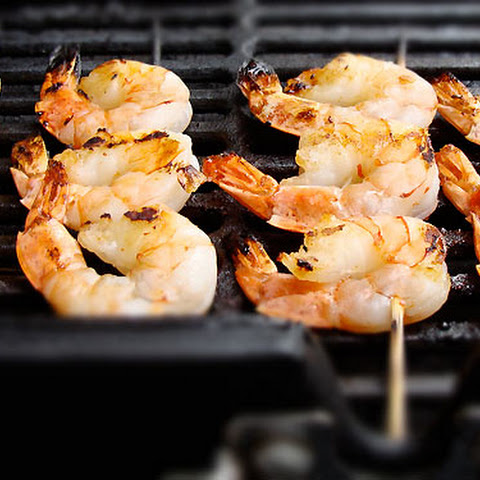 Sweet Chilli Prawn Skewers