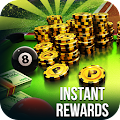 instant Rewards daily free coins for 8 ball pool APK for Bluestacks