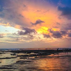 Canggu beach ,Bali by Amrita Bhattacharyya - Landscapes Beaches