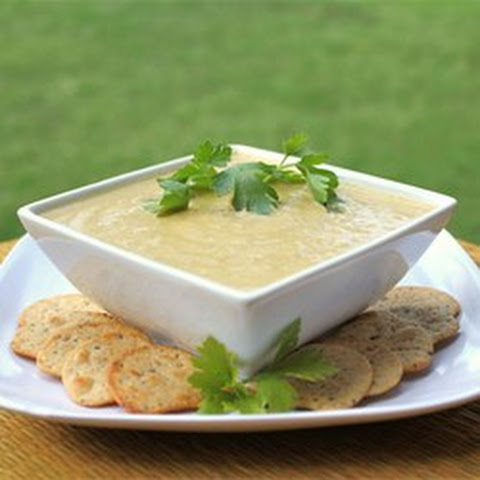 Low Carb Cauliflower Leek Soup