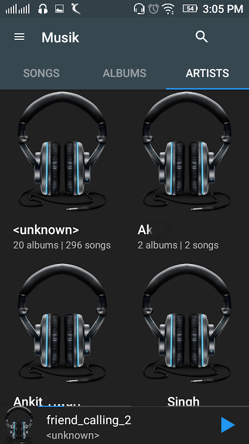 Music Player Pro Screenshot 0