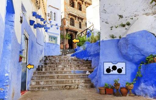 Blue City Chefchaouen Escape - screenshot