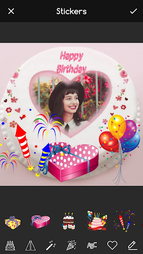 Pic on Birthday Cake with Name and Photo Maker screenshot 2