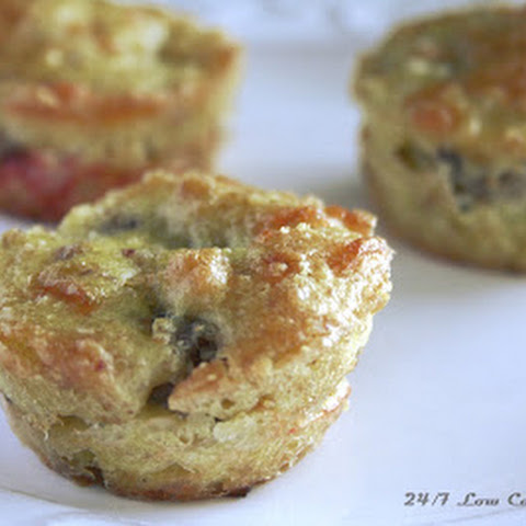 Full Moon Sausage and Cream Cheese Muffins