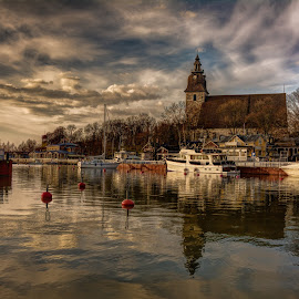 Naantali reflections by Bojan Bilas - City,  Street & Park  Vistas (  )