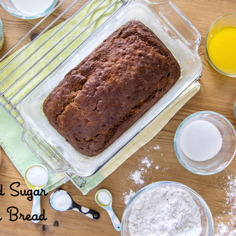 Reduced Sugar Banana Bread