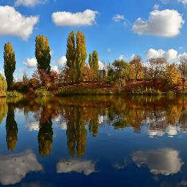 Autumn by Gosha L - Landscapes Waterscapes (  )