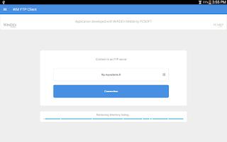 Screenshot of WM FTP Client
