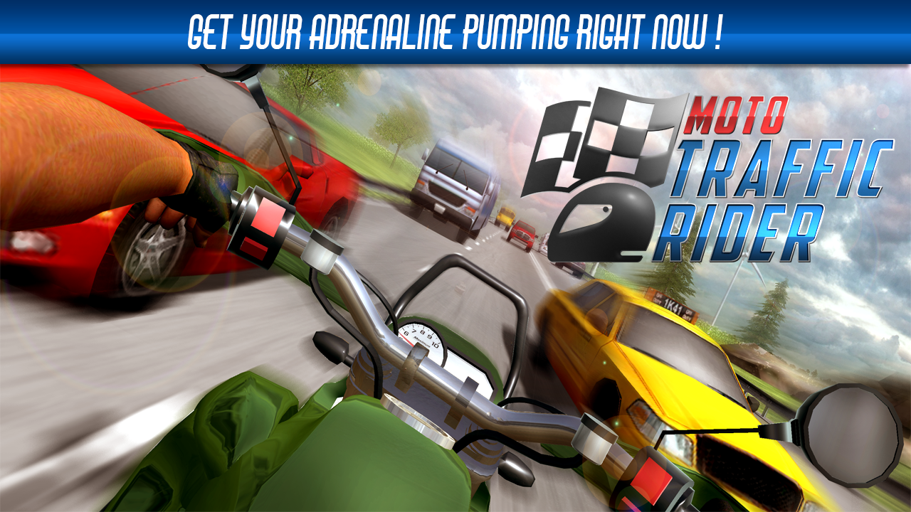 Moto Traffic Rider Screenshot 0
