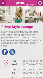 Primp Style Lounge - screenshot