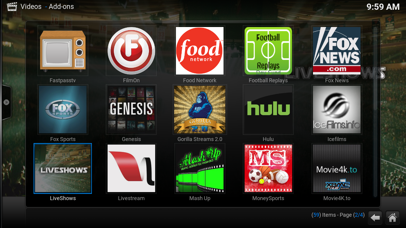 Easy Kodi Wizard Screenshot 3