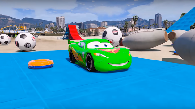 Superheroes Car Stunt Racing Games APK screenshot thumbnail 2