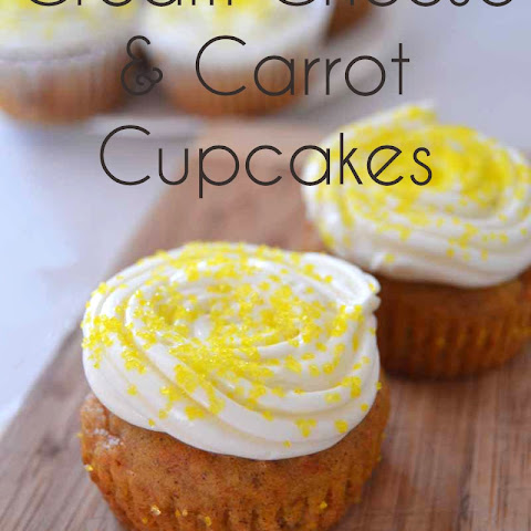 Cream Cheese & Carrot Cupcakes