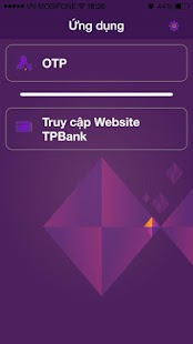 TPBank Soft token - screenshot