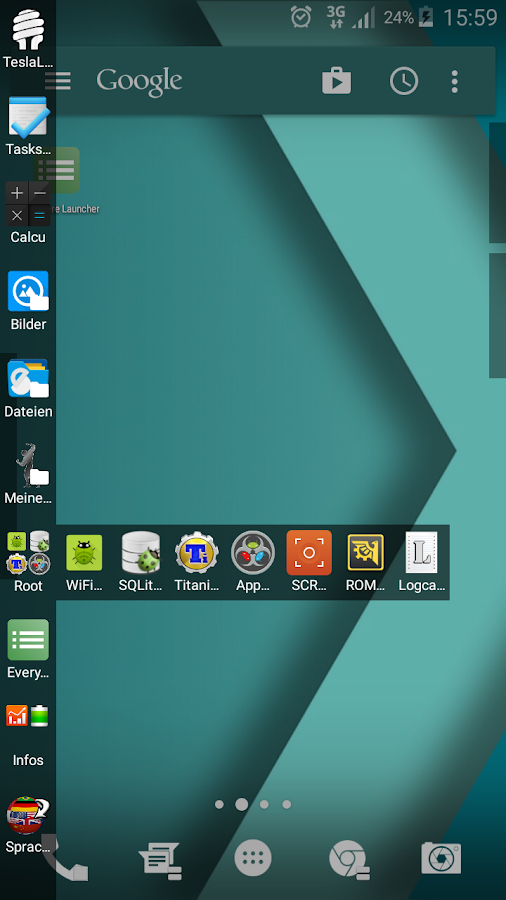 Everywhere Launcher Screenshot 1