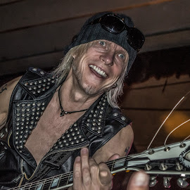 Michael Schenker (Scorpions Guitarist) by Dazz Lee Briggs - People Musicians & Entertainers