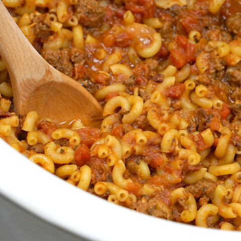 Crockpot Hamburger Helper