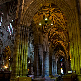 Pillars of faith by Natalie Houlding - Buildings & Architecture Other Interior