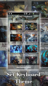 Art Keyboard For Dota 2 APK screenshot thumbnail 2