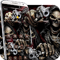 App evil Skeleton brother 3d theme APK for Windows Phone