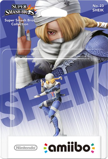 Sheik packaged (thumbnail) - Super Smash Bros. series