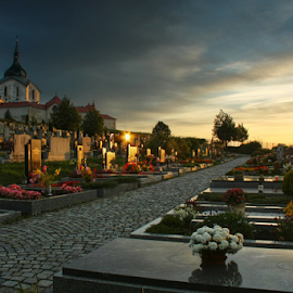 by Irena Brozova - City,  Street & Park  Cemeteries