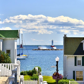 Mackinac Island Summer by Tim Hall - City,  Street & Park  Neighborhoods