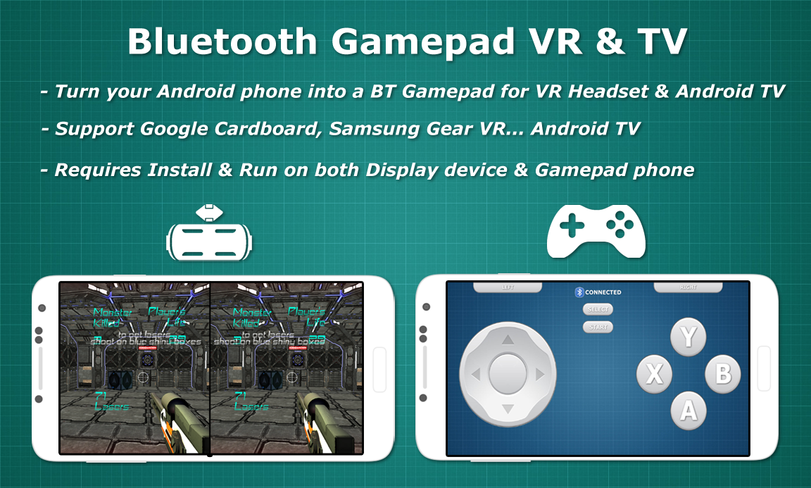 Bluetooth Gamepad VR & TV Screenshot 0