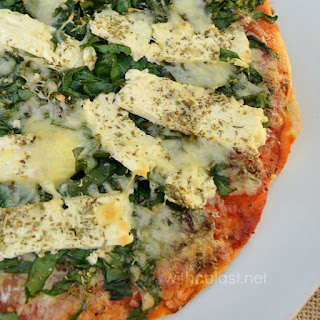Spinach Pizza With Feta Cheese Recipes
