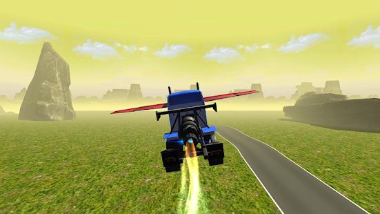 Flying Car : Transformer Truck APK for Bluestacks