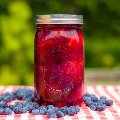 Peach Blueberry Pie Filling