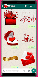 WAStickerApps Love❤️Love Sticker and amor stickers for pc