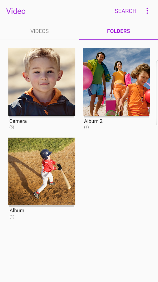 Samsung Video Library Screenshot 3
