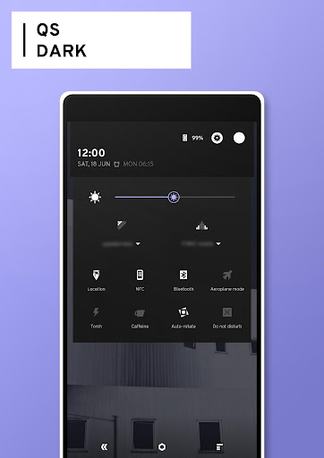 Radius CM13 Theme - screenshot