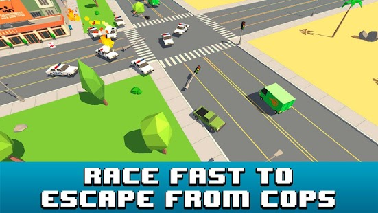 Pixel Smashy Car Race 3D - screenshot