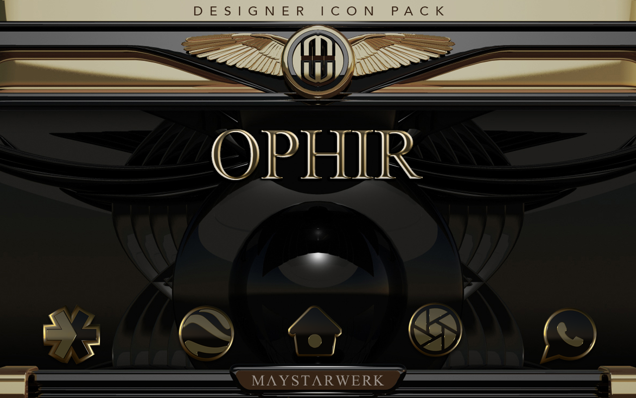 Ophir HD Icon Pack Screenshot 10