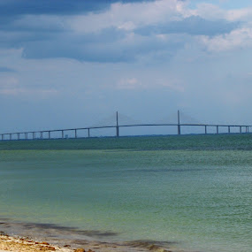 Skyway bridge tampa Florida  by Sean Kushmick - Buildings & Architecture Bridges & Suspended Structures