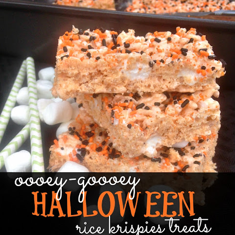 Ooey-Gooey Halloween Rice Krispies Treats