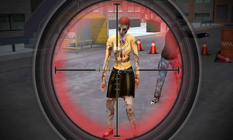 android Elite Zombie Shooter : 3D FPS Screenshot 2