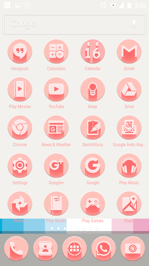 Pink Multilauncher Icon Pack Screenshot 3