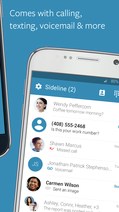 Sideline – 2nd Phone Number Screenshot 2