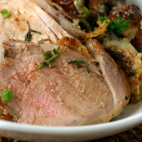 Roast Pork Tenderloin with Rosemary, Sage, and Thyme Paste