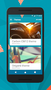 Origami cm12.1 cm13 theme- screenshot thumbnail