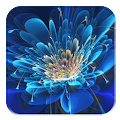 Glowing Flowers HD Wallpaper APK for Bluestacks