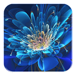 Glowing Flowers HD Wallpaper Icon